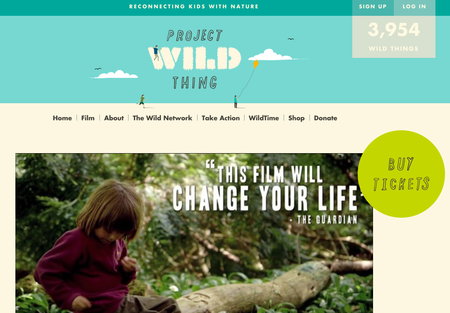 Website of the day: Project Wild Thing