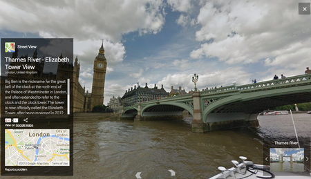 London's River Thames in 360-degree panoramic views now live on Google Maps - photo 1