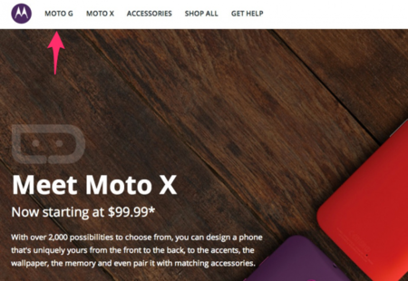 Motorola website slip reveals 'Moto G' handset may be launching soon