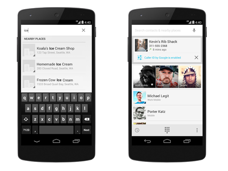 Android 4.4 KitKat will show Google+ photos for incoming calls in 2014