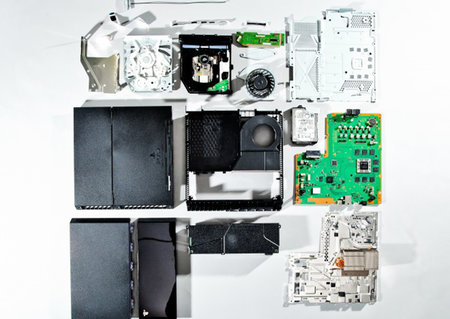 See inside the PS4: Teardown shows off new x86 chip and internal power adapter