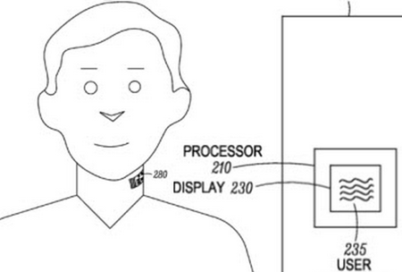 Motorola patent would tattoo a mic and lie detector to your throat