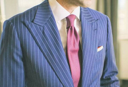 Get this three-piece Garrison Bespoke suit and become bullet-proof