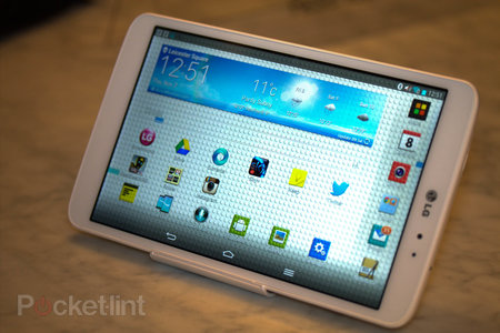 LG G Pad 8.3: Hands-on pictures with the Nexus 7 challenger - photo 1