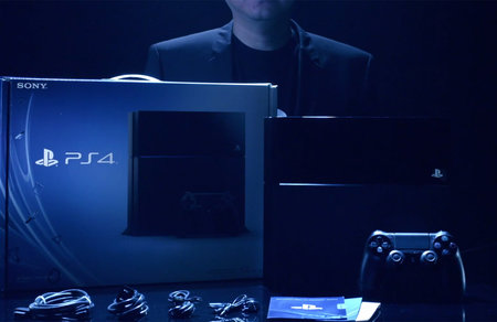PS4 unboxing video or Tron Legacy 2? You decide
