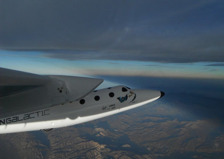 You'll be able to watch Virgin Galactic's first commercial space flight on TV