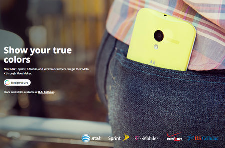 Motorola Moto Maker opens to all major US carriers ahead of Moto G's global launch