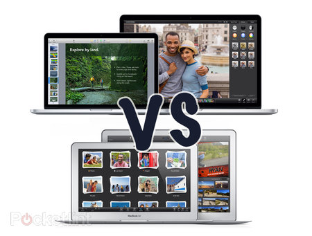 Retina MacBook Pro (2013) vs MacBook Air (2013): What's the difference?