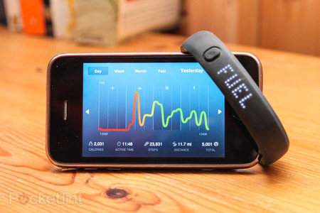 Nike FuelBand update brings double tap to tell time and better algorithms to original FuelBands