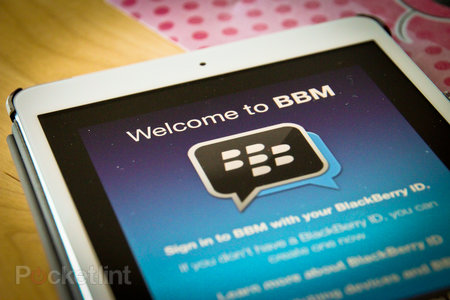 BBM coming to Wi-Fi iPads within 24 hours