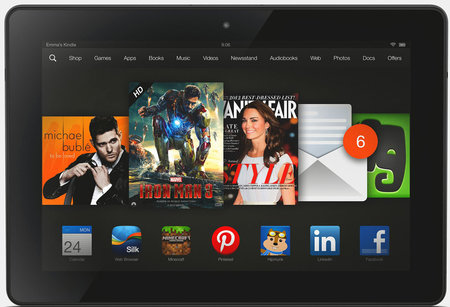 Kindle Fire HDX 8.9-inch tablet ships today