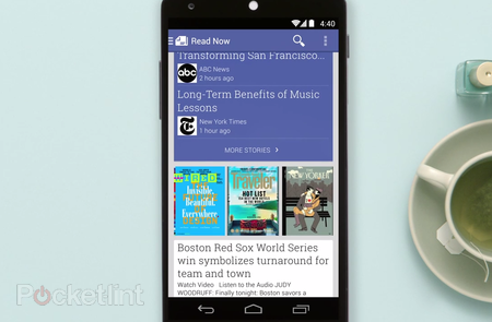 Google Play Newsstand app, a hub for all your favourite news sources