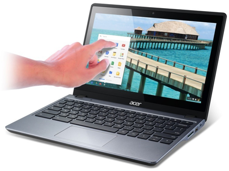 Acer C720P Chromebook features touch for only $299, undercutting Google's Pixel handsomely