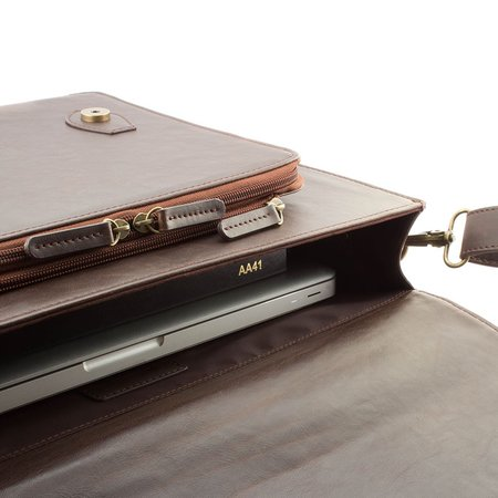 Proporta Stephenson Satchel combines iPad case with laptop bag for hipster chic - photo 4