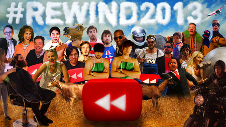 YouTube Rewind: What Does 2013 Say? celebrates the biggest video trends of the year