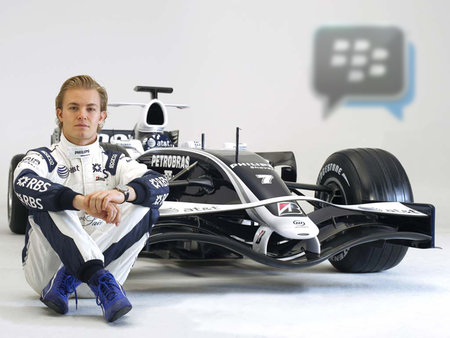 Formula One driver Nico Rosberg to use BBM Channels for Q&A with fans (update)