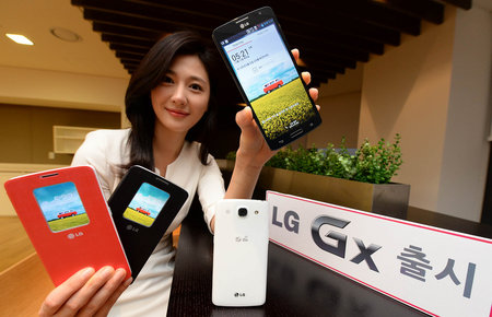 LG Gx announced for Korea, ups the 4G ante but is essentially Optimus G Pro