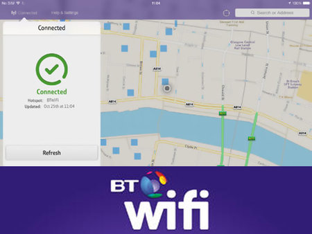 BT's Wi-Fi app lands for iOS, helps UK users auto-connect to BT hotspots