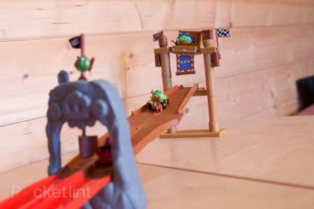 Angry Birds Go! Telepods Pig Rock Raceway Set review - photo 14