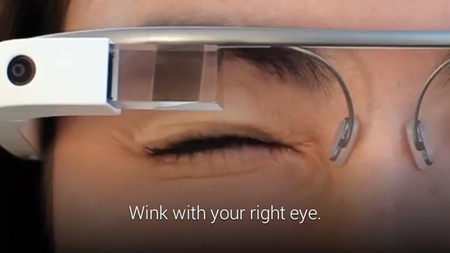 Google Glass now lets you wink to capture photos