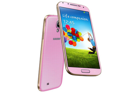 Pink Samsung Galaxy S4 exclusive to Phones 4u, pre-orders now open