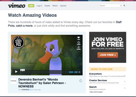 Brand new Vimeo player is 50 per cent faster, uses HTML5 and adds new creator tools