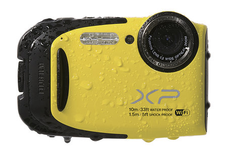 Fujifilm FinePix XP70: Splish splash with waterproof Wi-Fi compact camera