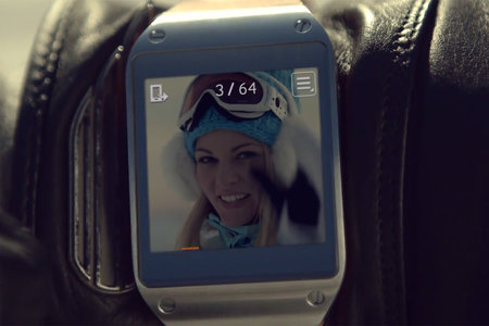 New Samsung Galaxy Gear advert suggests it's the ideal watch for stalkers