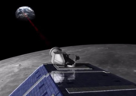 NASA uses lasers to communicate gigabytes with the Moon