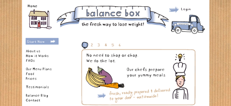 Website of the day: Balance Box