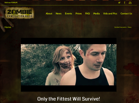 Website of the day: Zombie Evacuation