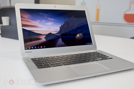 Toshiba Chromebook pictures and hands-on