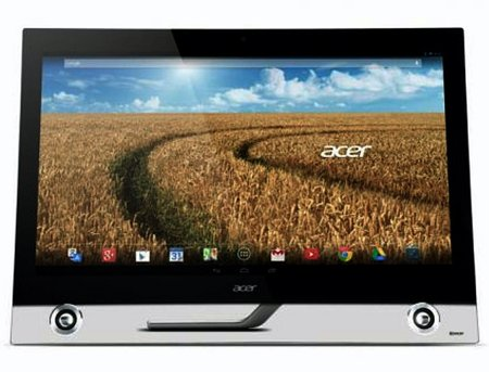 Acer shows off TA272 HUL Android AIO desktop ahead of CES 2014