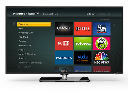Roku moves beyond just set-top boxes, will now come bundled with some HDTVs