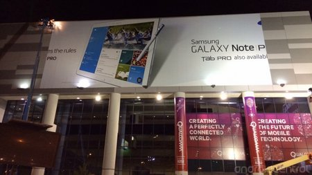 Samsung banner outs Galaxy Note Pro and Galaxy Tab Pro a few hours early (updated)