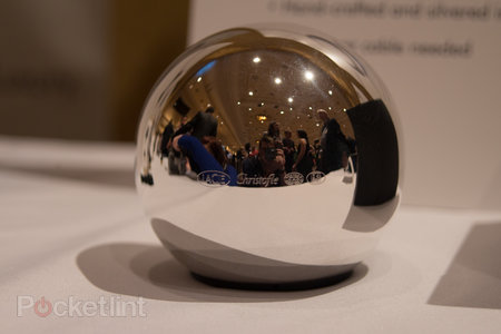 Lacie Sphere: The beautiful, spherical, silvered, hand-crafted hard drive