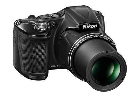 Nikon Coolpix L Series brings superzoom to compact cameras, L830 UK exclusive