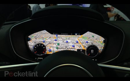 Audi partners with Nvidia to put virtual cockpit into new Audi TT (video)