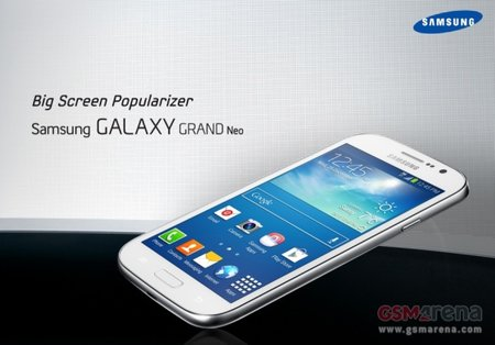Samsung Galaxy Grand Neo: 5-inch budget Android for 299 euro leaks