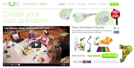 Website of the day: Hue Animation