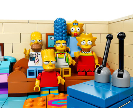 The Simpsons Lego officially announced and will be available in February