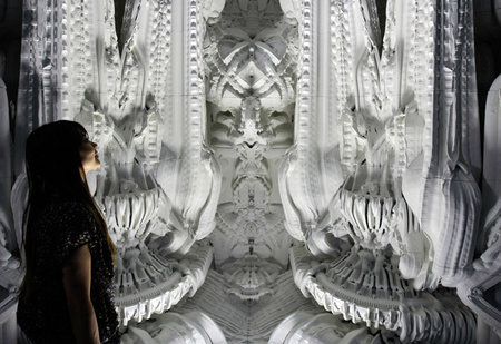 Astonishing 3D printed room was even designed by a computer - photo 1