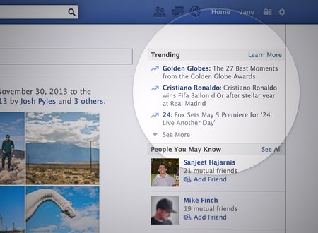 Facebook Trending feature rolls out for web, serves up personalised and popular topics