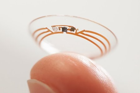 Google's smart contact lens will measure glucose levels in your tears
