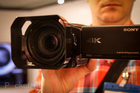 Sony FDR-AX100E: We go hands-on with the 4K HandyCam that could change TV forever