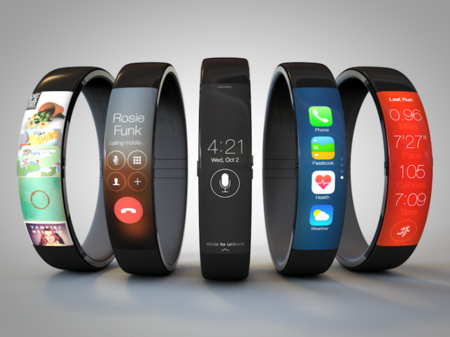 iWatch concept ditches the watch look by taking inspiration from FuelBand
