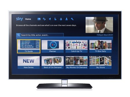 Sky unveils new Sky TV EPG to push on-demand content, coming this spring