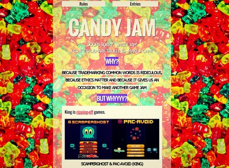 Candy Jam shows developer King how ludicrous it is to trademark common words like 'candy'