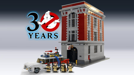 Lego Ghostbusters 30th anniversary set with Ectomobile to release in 2014
