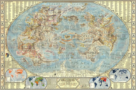 Shiver me timbers! This map of the internet is a treasure